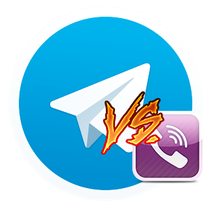 telegram против viber