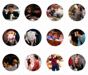 Скачать стикеры Телеграм стикеры «Друзья»