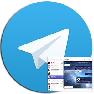 «Cosmos» тема для Telegram-ava