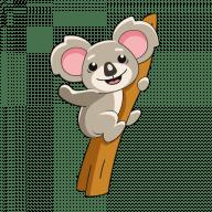 Анимированная коала